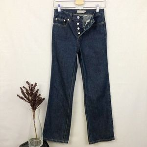 J. Crew 'button fly' straight leg jeans P2